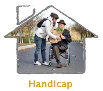 Aide auprès des personnes handicapées